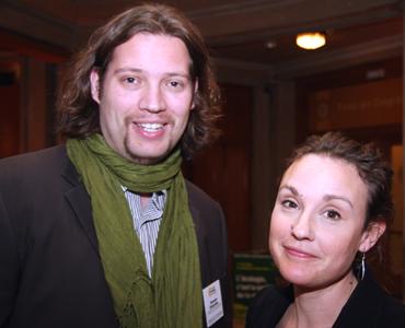Romain Chiaradia et Anne-Lise Leibiusky